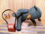 мишка из джинсы