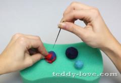 Делаем валеные шарики