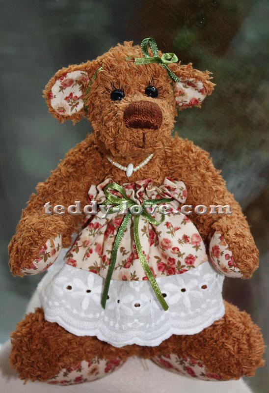 Медведь Тедди Ханночка Мастер класс