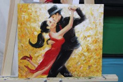 картина маслом танго мастер-класс по масляной живописи