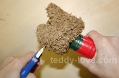 Дисковое крепление для мишек Тедди. Как закрутить шплинты, винтовое крепление, соединить детали для медведя