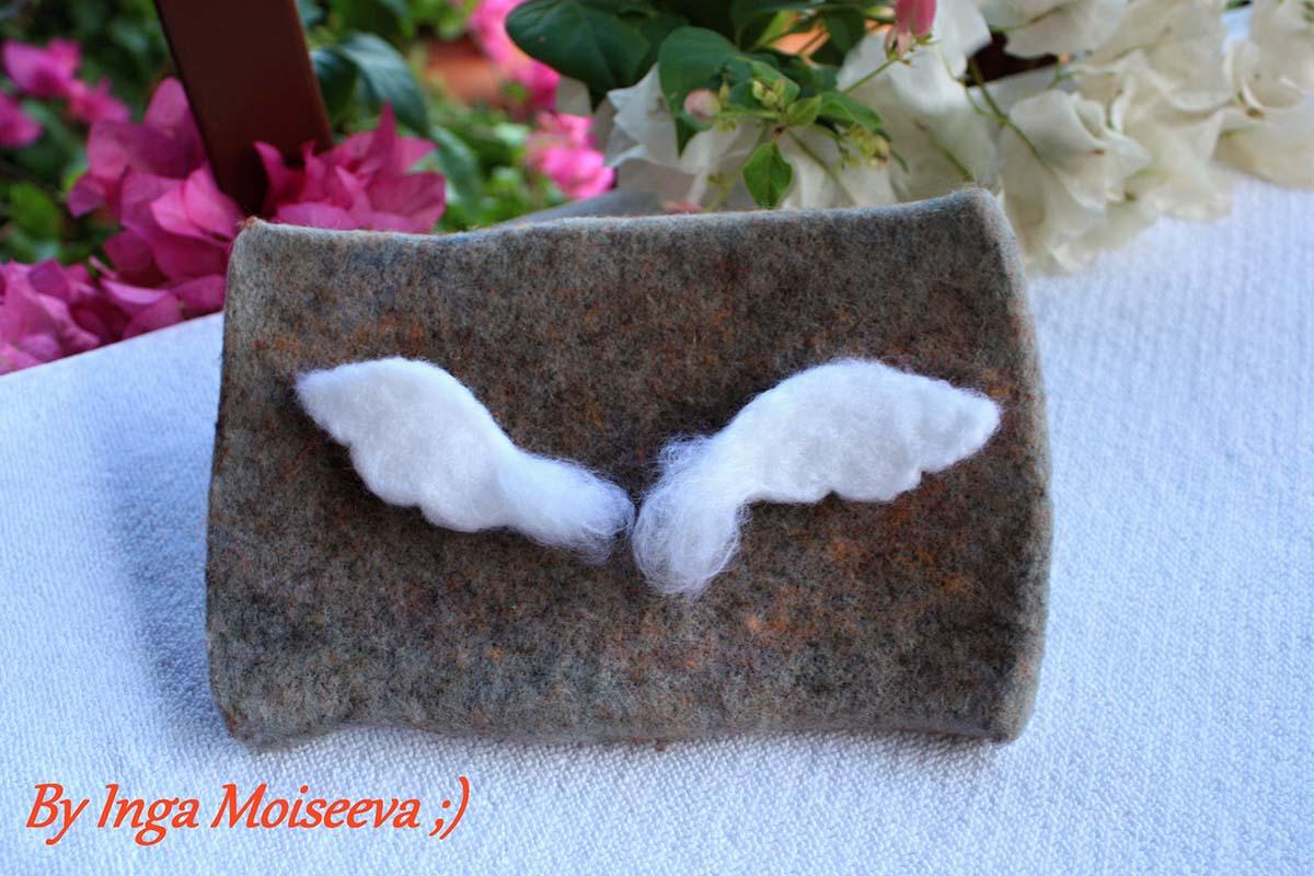 Делаем крылья ангела