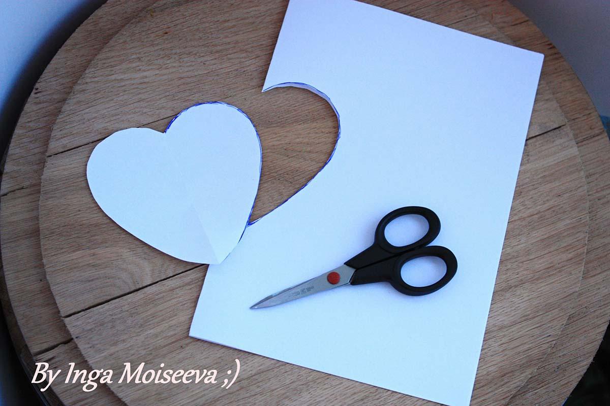 Шаблон из бумаги