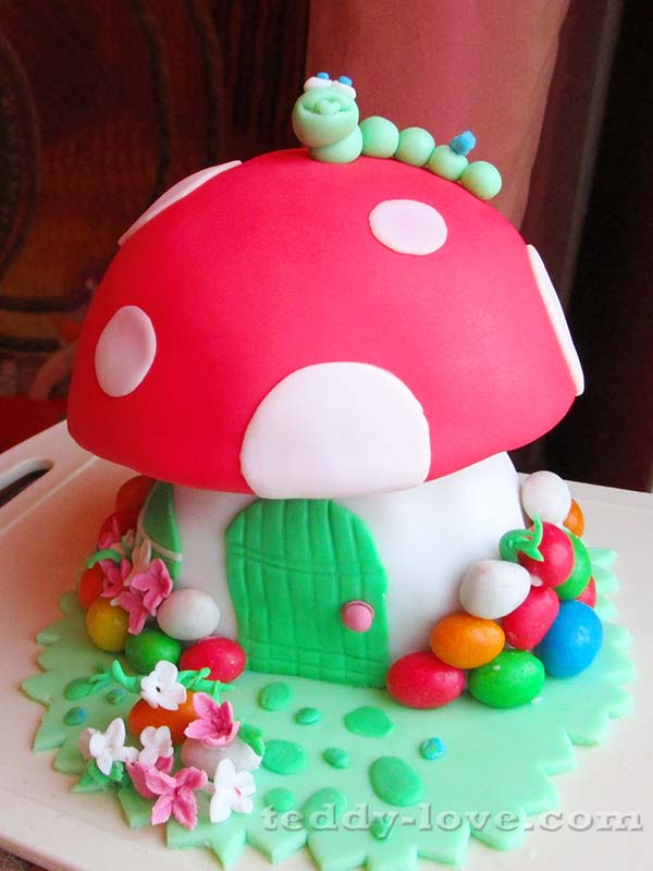 торт на 1 годик своими руками пошаговый рецепт