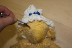 Нос из шерсти мишке Тедди мастер класс мордочка