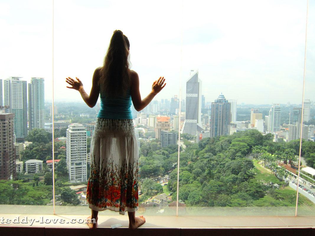Любуюсь на Куала Лумпур