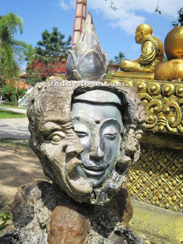 Wat Khun Kharam Samui храм кхун кхарам