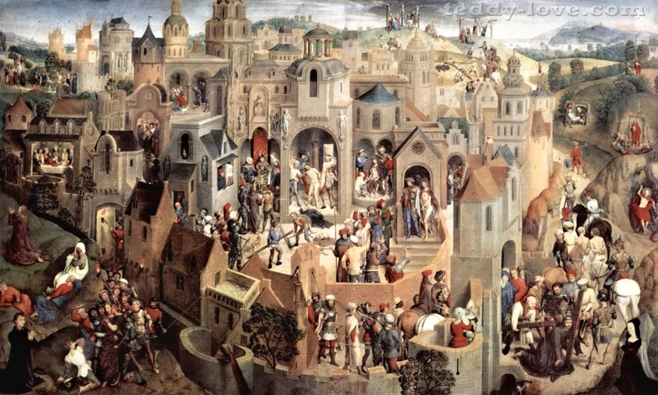 Это полотно Ганса Мемлинга не присутствует в музее Новачеллы, но дает понять, какая живопись представлена в его экспозиции