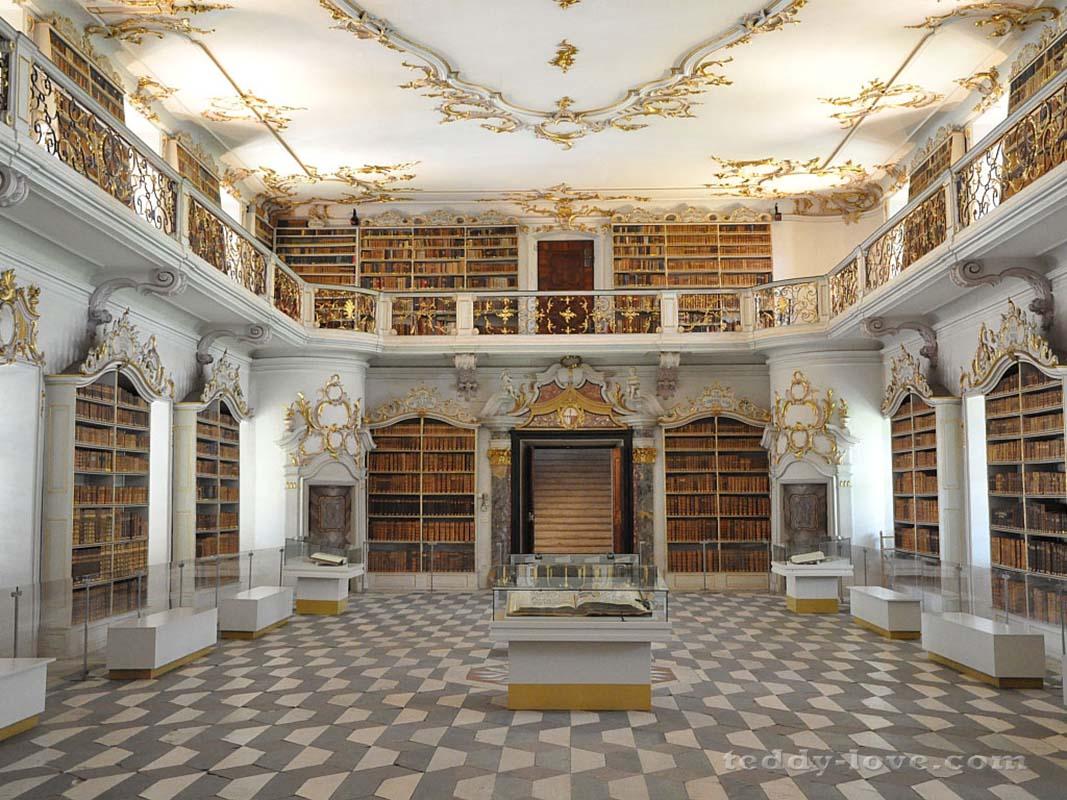 Библиотека – шедевр рококо