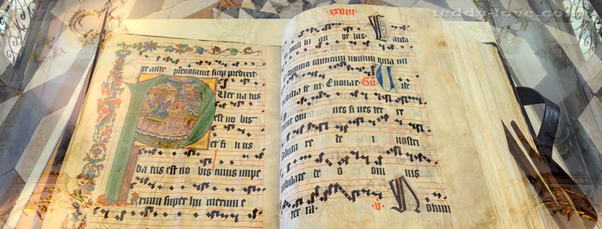 Нотная книга 14 века