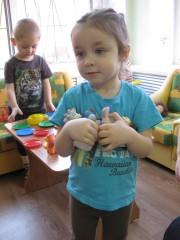 Амелька в детском саду