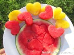 Формочка для арбуза, как красиво подать фрукты