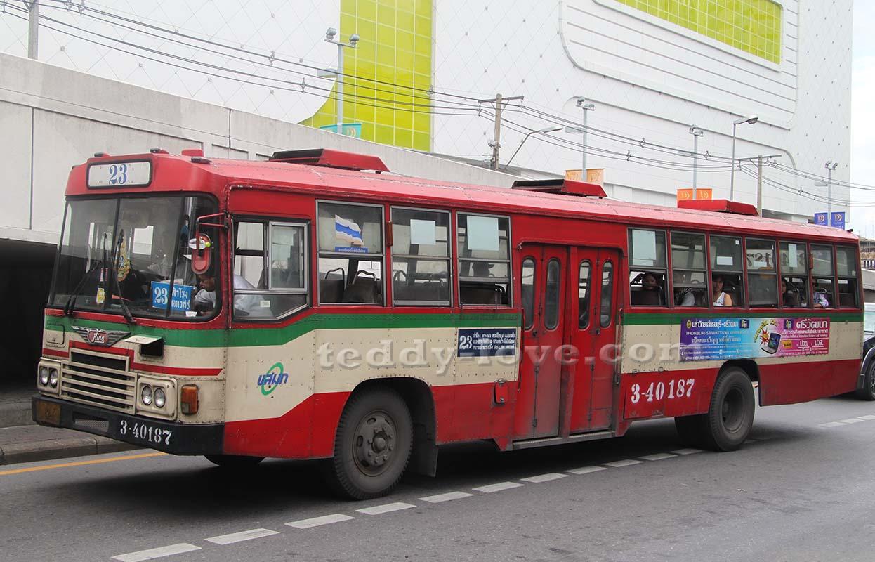 Автобус в Бангкоке