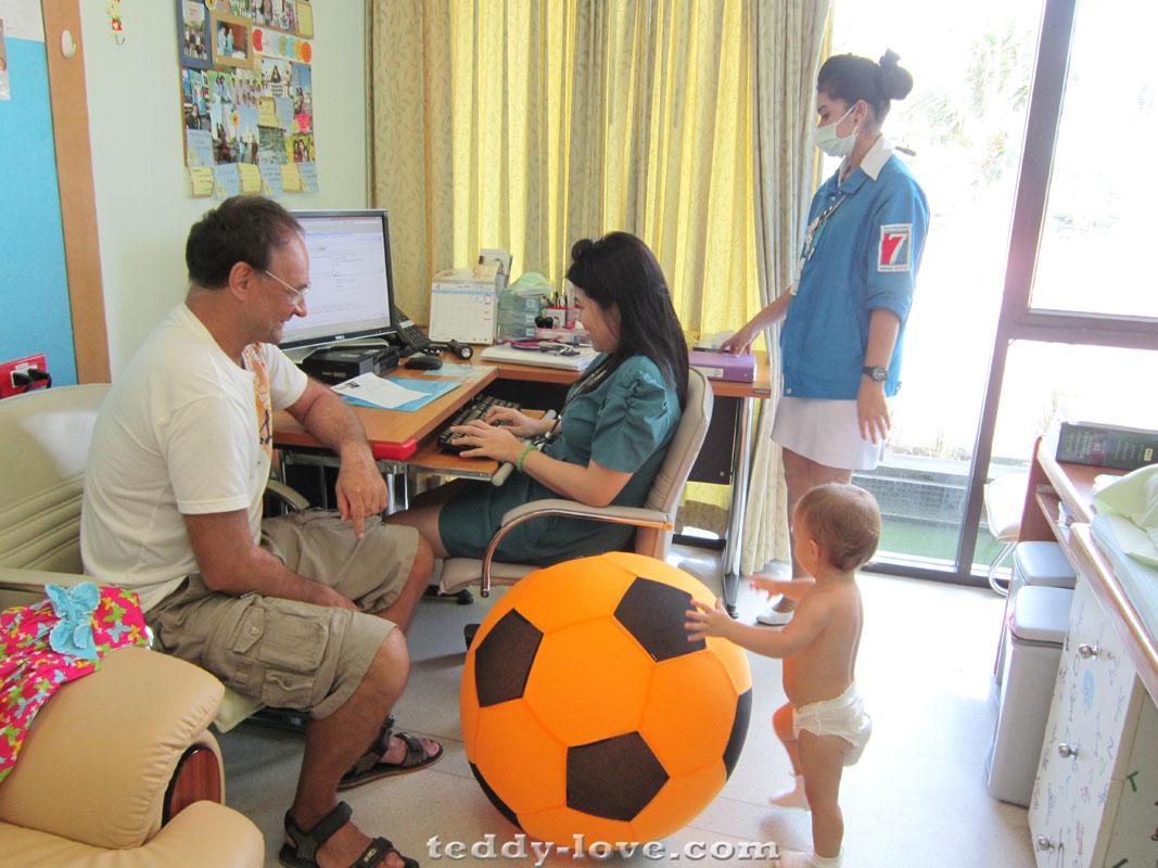 Наш врач в Бангкок госпитале