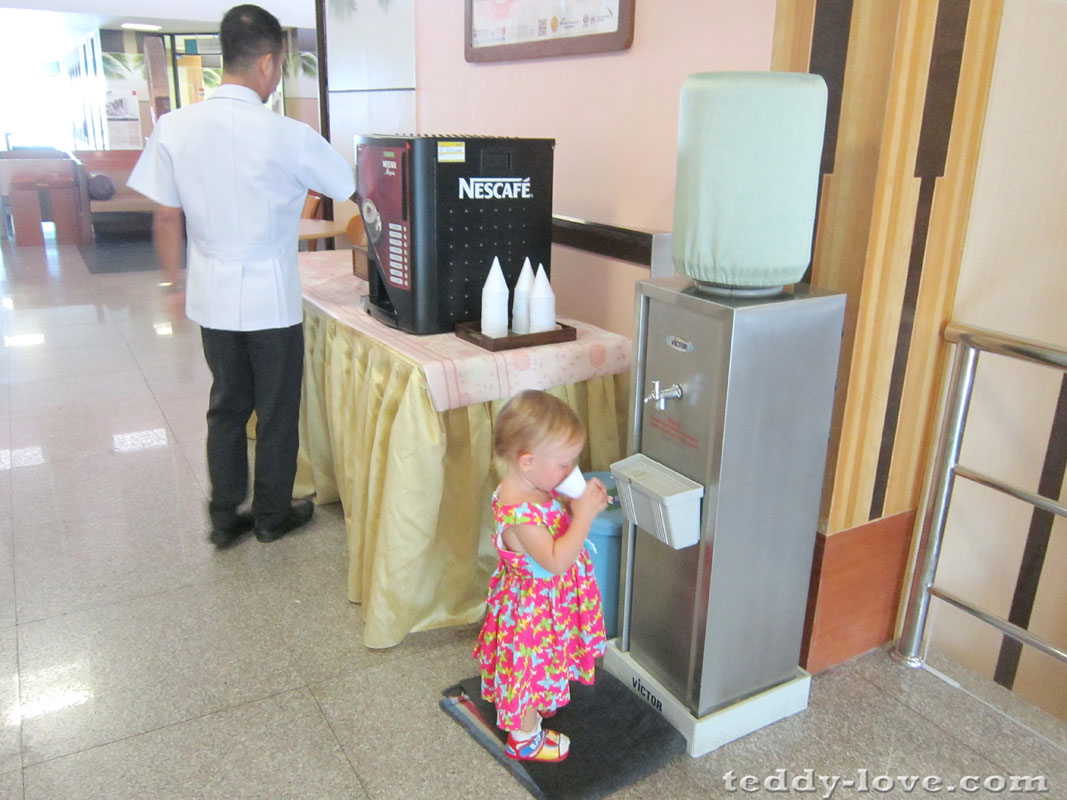 Кофе, шоколад, вода - бесплатно!