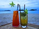 Самуи, пляж Чавенг, коктейль