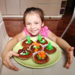 Черничные кексы, простой рецепт с фото. Как испечь капкейки с черникой в духовке рецепт пошагово