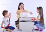 чемодан кроватка отзыв, чемодан JetKids купить в спб