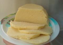 домашний сыр из молока, рецепт домашнего сыра, Домашний сыр своими руками простой рецепт,