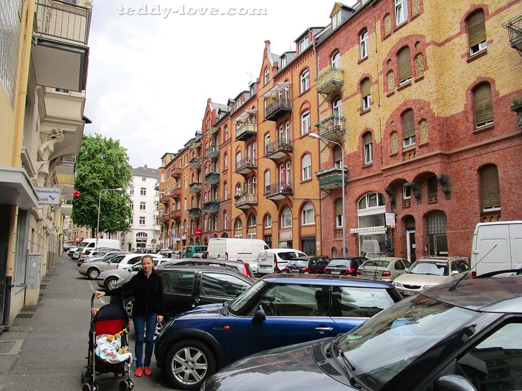 Обычная улица Висбадена