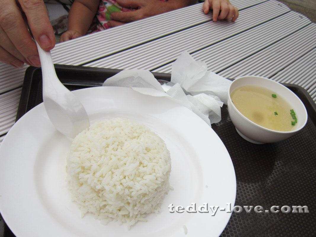 Рис с супчиком стоят в парке 10 рублей! Да-да- десять!