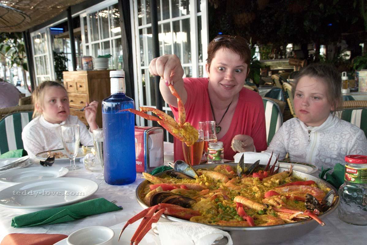 Paella marisca – мое удивление при виде этого чуда