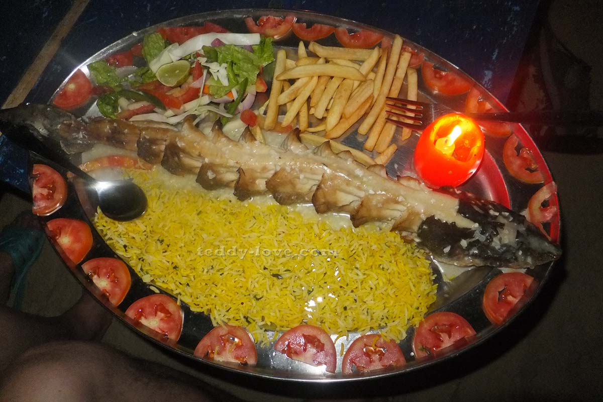Акула с рисом. Обалденно вкусно!