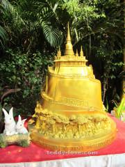 Wat Saket and the Golden Mount - храм Золотой Горы в Бангкоке в миниатюре