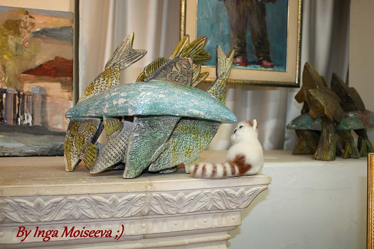 Кот в музее?!