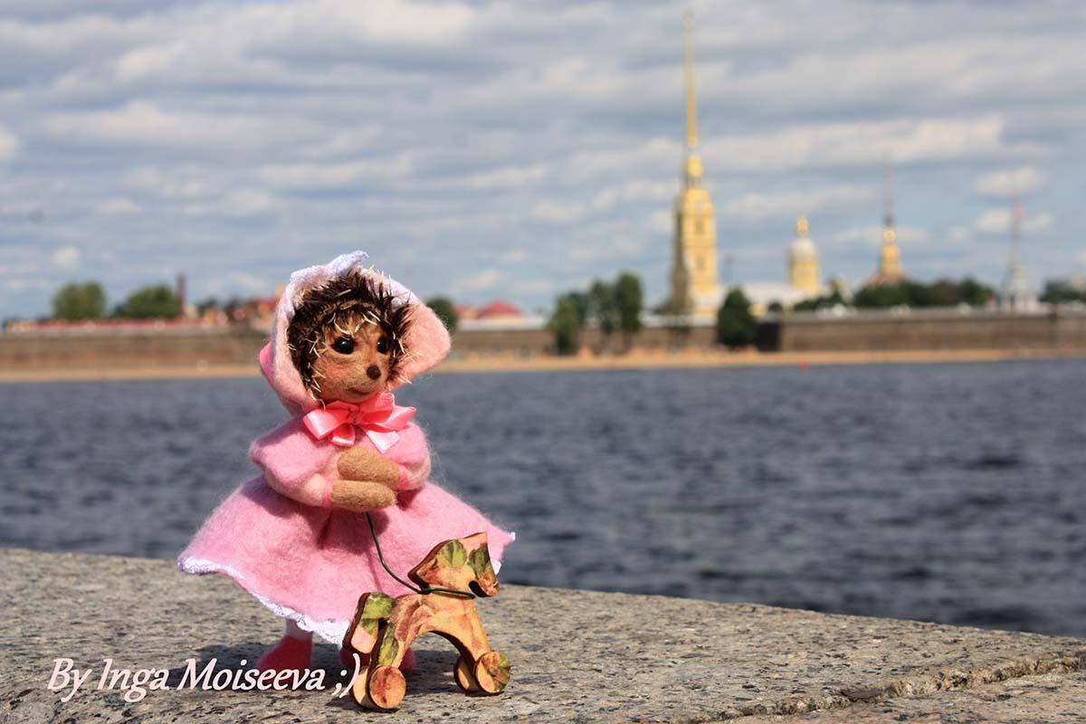 Малышка ежик, Санкт-Петербург