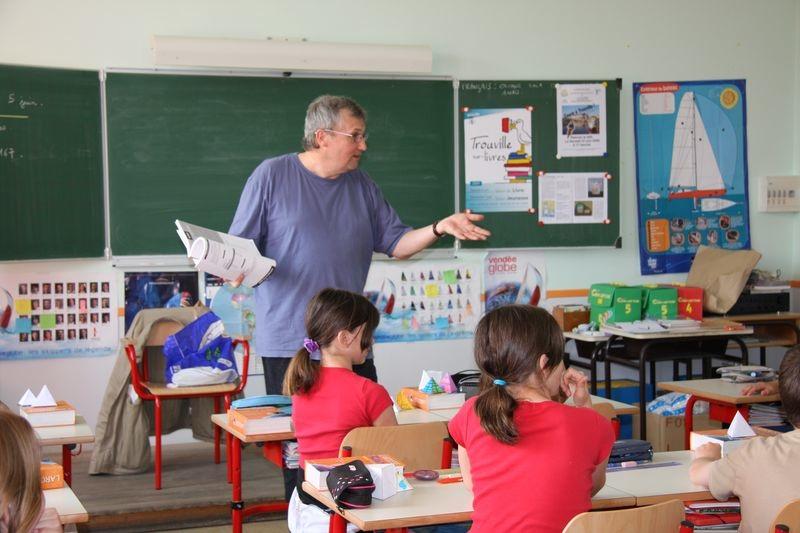 Фото с занятия в Центре французской культуры в Стамбуле.