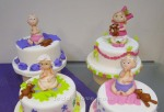 Детский торт с детишками