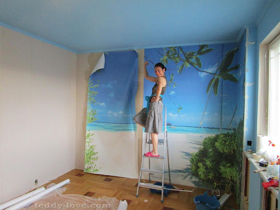 Как выбрать обои для маленькой комнаты: лучшие идеи, 60+ фото в ... | 800x1067