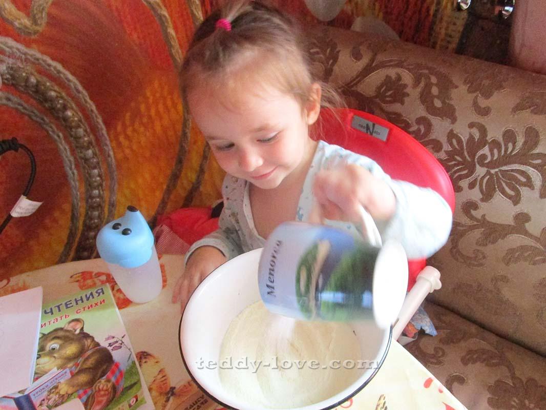 рецепт мастики из детской смеси пошагово