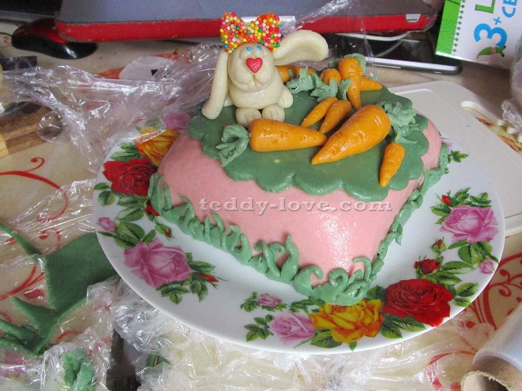 Рецепт торта с мастикой своими руками для