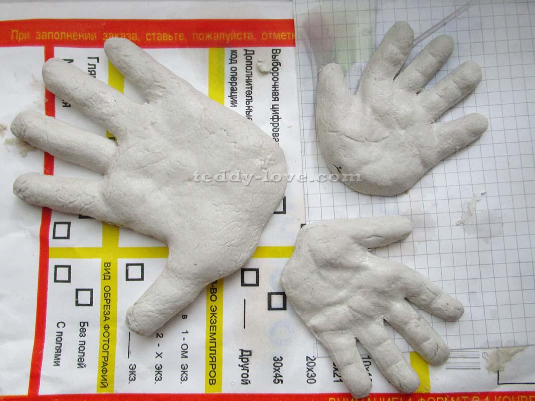 Как сделать тесто для слепков фото 221