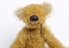 Как вышить рот мишке Тедди, Рот медведю Тедди