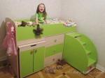 Какую кроватку выбрать маленькому ребенку, отзыв о кровати-чердаке малыш