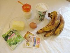 рецепт бананового кекса