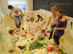 Куда пойти с детьми в СПБ? Арт-безумие - занятия творчеством с детьми