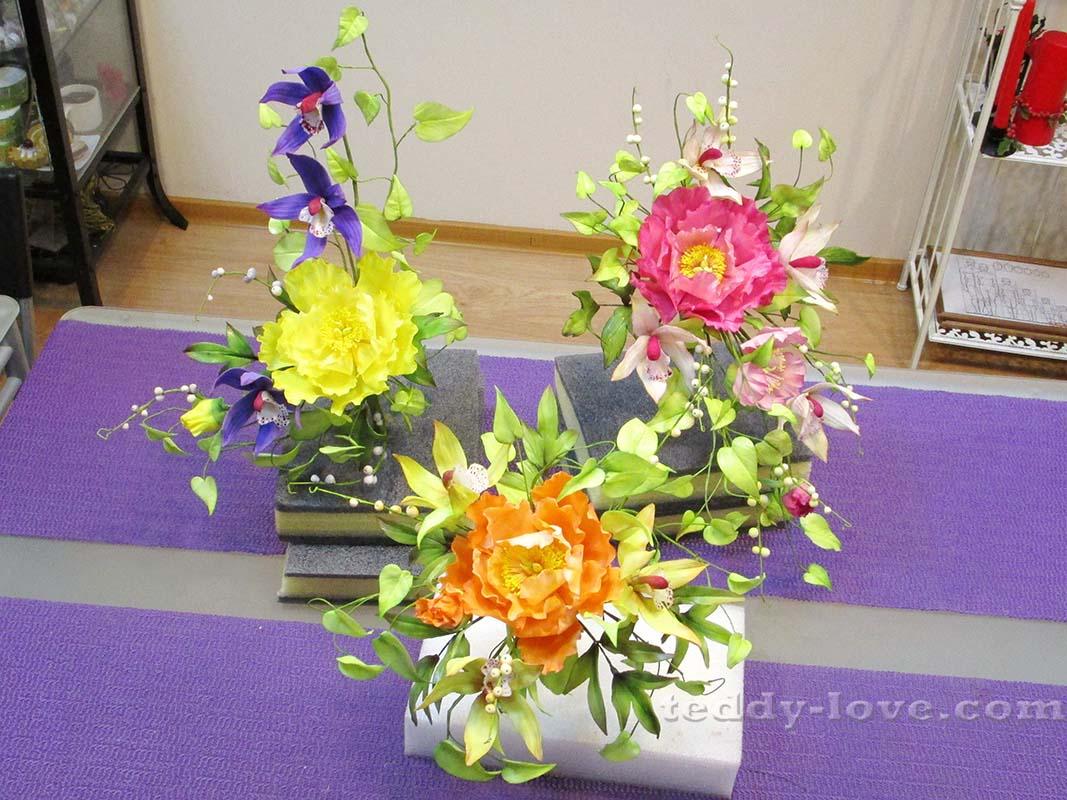 И результаты всех участников с мк для начинающих пион+орхидея