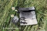 Мастер класс валяние из шерсти - чехол или сумка, мокрое валяние, мастер-класс чехол для начинающих