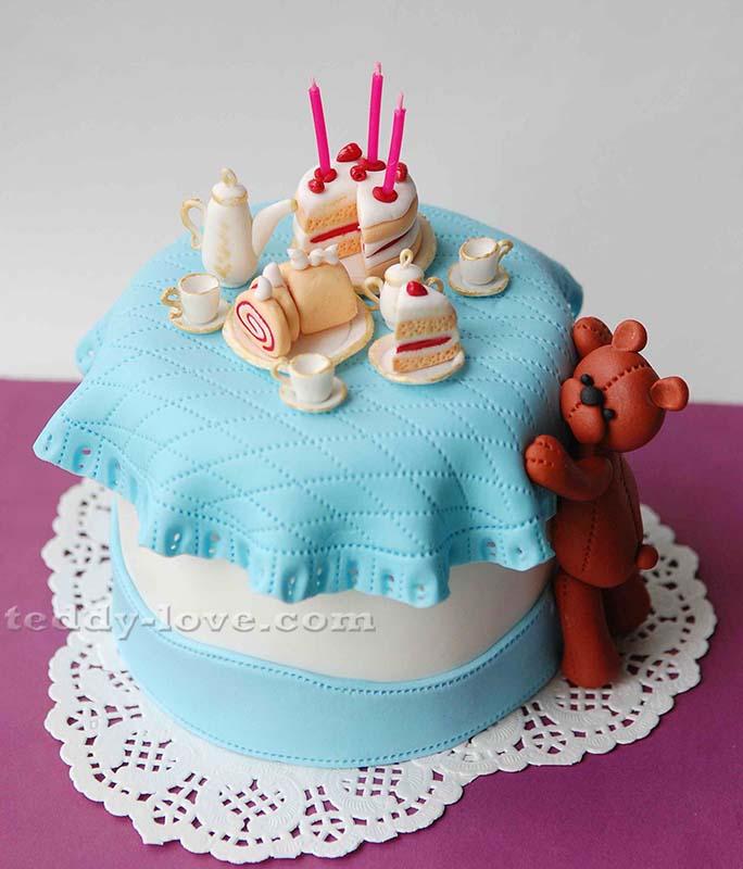 Торт для девочки на 1 год своими 37