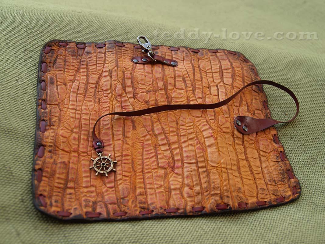 Сделать сумка из кожи