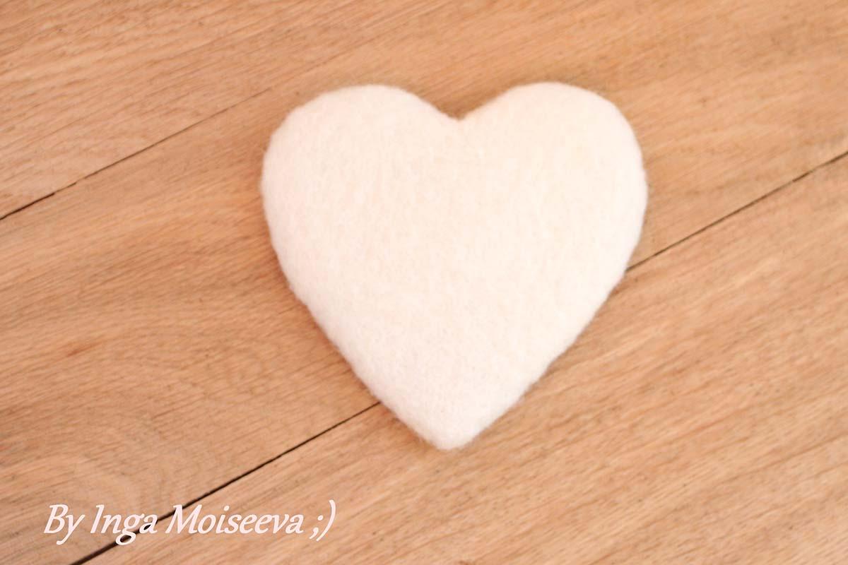 Сердечко из кардочеса