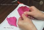 мастер-класс по шелковой флористике Цветы из ткани своими руками мастер - класс для начинающих брошь мак