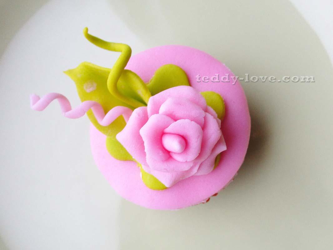 Цветы из мастики своими руками для начинающих фото пошагово фото 426