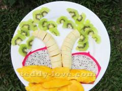Как красиво подать фрукты, чтобы ребенок хорошо ел