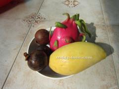 овощи и фрукты Таиланда