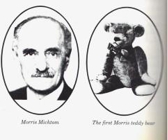 Моррис Мичтом и первый мишка